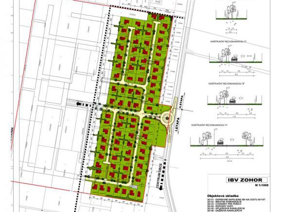 Nové stavebné pozemky v Zohore budú dostupné už čoskoro