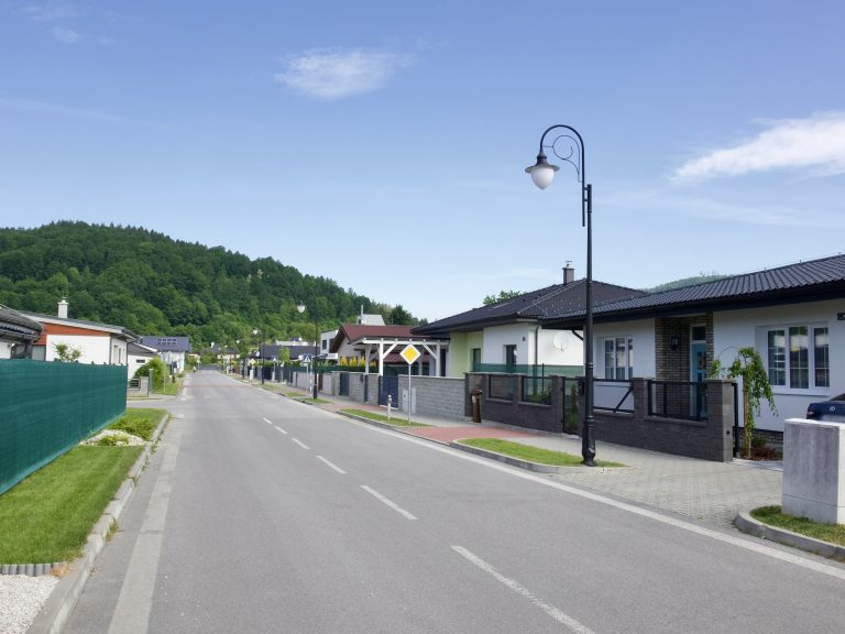 Obojsmerná ulica v projekte