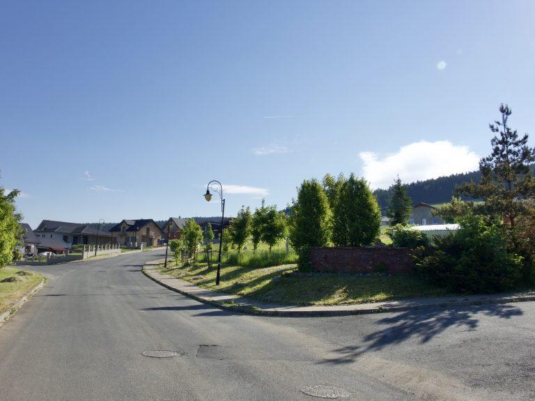 Zeleň v uliciach projektu